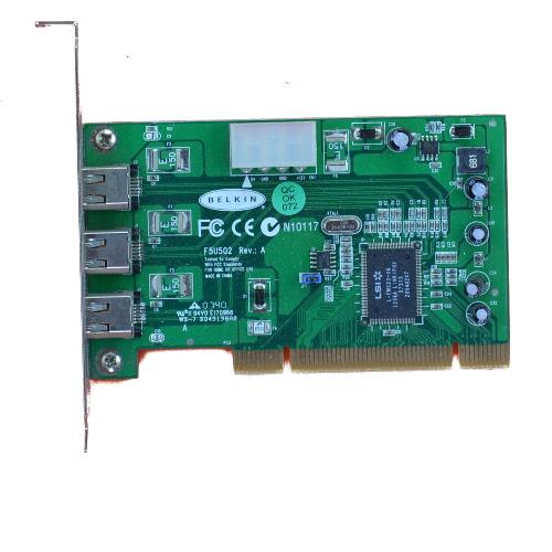 DRIVER: BELKIN FIREWIRE 3-PORT PCI CARD